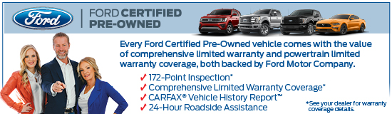 Ford Certified Pre Owned >> Certified Pre Owned Randall Reed S Planet Ford 45